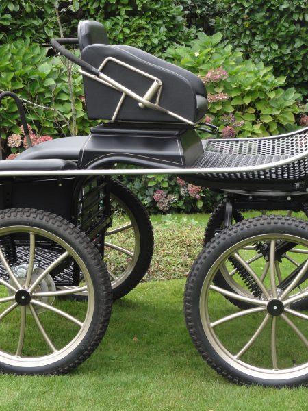 Occasion Pony recreatiewagen zwart