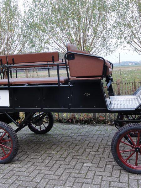 Recreatiewagen geschikt voor rolstoelen.