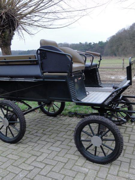 Occasion Recreatiewagen geschikt voor rolstoelen.