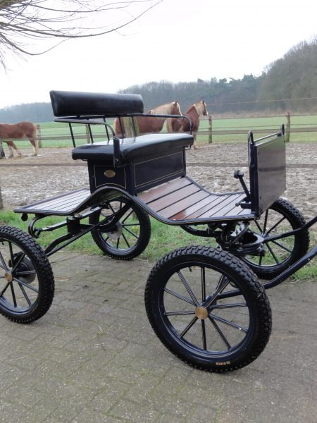 Occasion Concourswagen donkerblauw